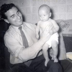 Billy and dad 1959.