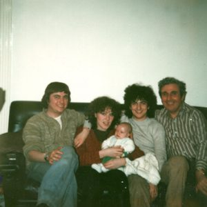 Ian, Mary, Billy, Dad 1978