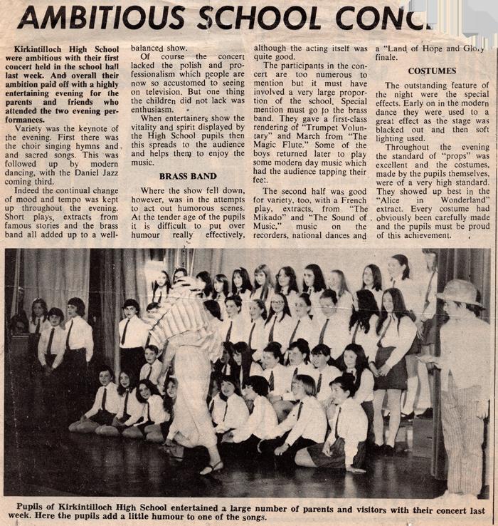 Kirkintilloch Herald 1972