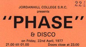 Jordanhill College 22.4.77