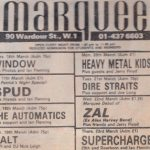 Marquee 22.3.78