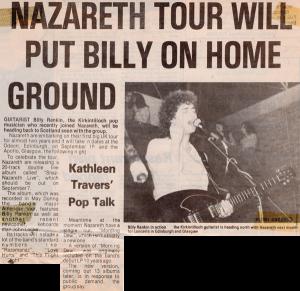 Kirkintilloch Herald 1981