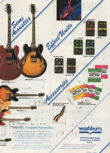 Washburn Guitars Ad