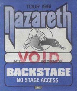 Flip 'n' Clop tour backstage