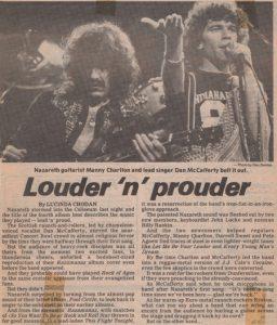 PNE Coliseum, Vancouver live review