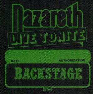 Snaz Backstage patch