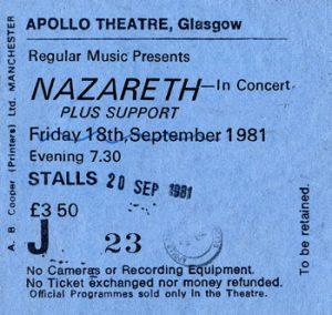 Naz ticket Apollo