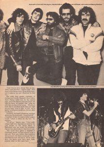 Creem magazine 11/12.81