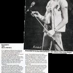 Kerrang magazine 15.7.82