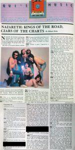 1982.01 Naz Oui Magazine