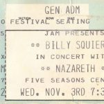 5 Seasons Center ticket 3.11.80