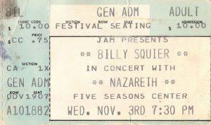 5 Seasons Center ticket 3.11.80