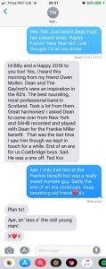 final text conversation