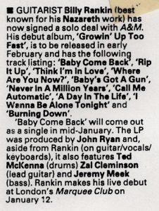 Kerrang 29.1.83