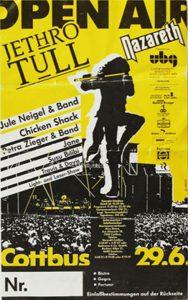 Cottbus Festival poster 29.6.91