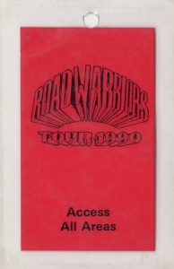 Road Warriors tour pass 6/7.90