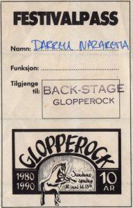 Glopperock, Sandane, Norway pass 10.6.90
