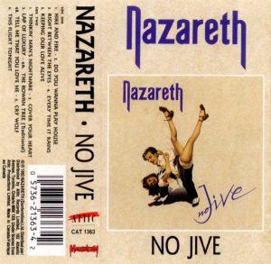 No Jive cassette cover 91