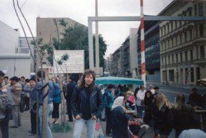 Checkpoint Charlie, Berlin 29.6.91