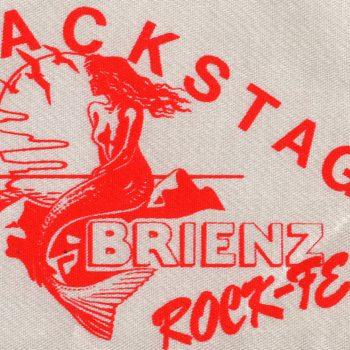 Brienzersee Rockfest, Switzerland patch 92