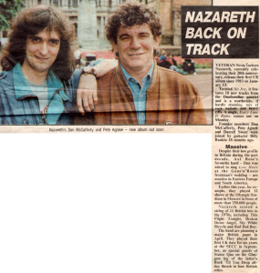 Evening Times 3.1.92