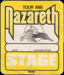 Flip 'n' Clop tour stage patch 81