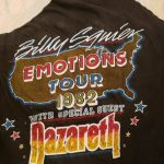 Billy Squire Emotions tour shirt 10-12.82
