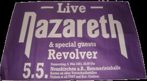Hemmerleinhalle, Neunkirchen, Germany poster 5.5.83