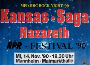 Maimarkthalle, Mannheim poster 14.11.90