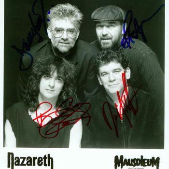 Signed Mausoleum Records promo 91