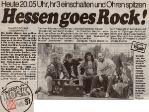 Unknown German newspaper 1.7.91