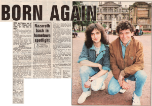 Glasgow Evening Times 19.9.91
