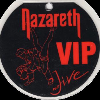 No Jive VIP Tour Pass 91-92