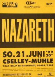 Cselley Mühle, Oslip, Austria poster 21.6.92