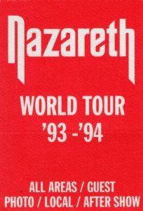 World tour patch 93/94
