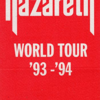 World tour patch 93/94