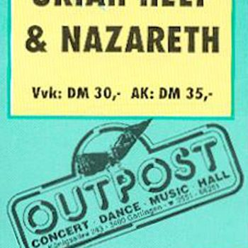 Outpost, Göttingen ticket 11.2.93