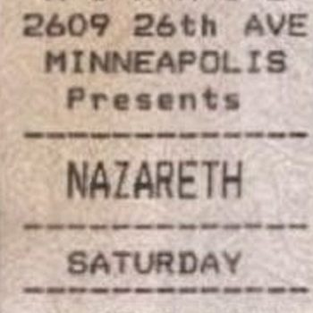 Mirage, Minneapolis MN ticket 15.5.93