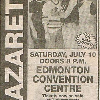 Convention Centre, Edmonton advert 10.7.93