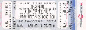 RPM Warehouse, Toronto ticket 19.11.93