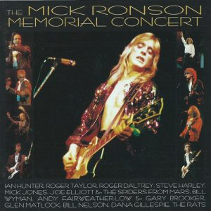 Mick Ronson Memorial Concert album cover