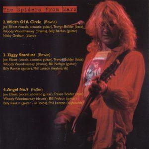 Mick Ronson Memorial Concert album book