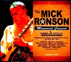 Mick Ronson Memorial Concert poster