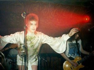 John Mainwaring and Billy. Mick Ronson Tribute aftershow 29.4.94