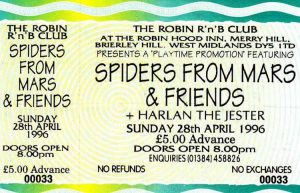 The Robin, Brierley Hill ticket 28.4.96