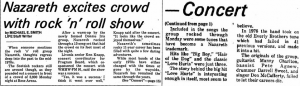 Rose Arena, Mount Pleasant, MI review 23rd February 1981