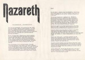 Band biography 82