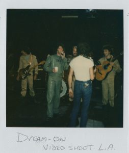 Dream On video shoot, LA 10.82