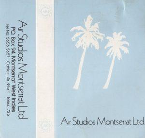 Air Studios, Montserrat cass cover