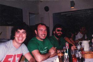 Billy, Pete & Darrell at Air Studios, Montserrat 82